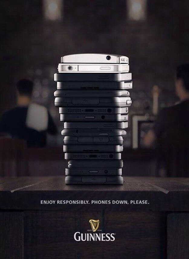 guinness-anti-cellphone-poster-ad