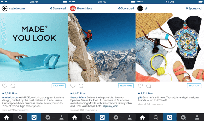 how to find instagram sponsored ads